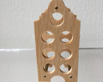 "Dollhouse Miniature Wood Wine Rack 1"" scale  (BF)"