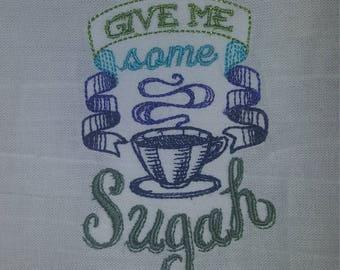 Humorous sayings tea/Dish towels