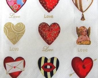 "Towel ""Hearts"""