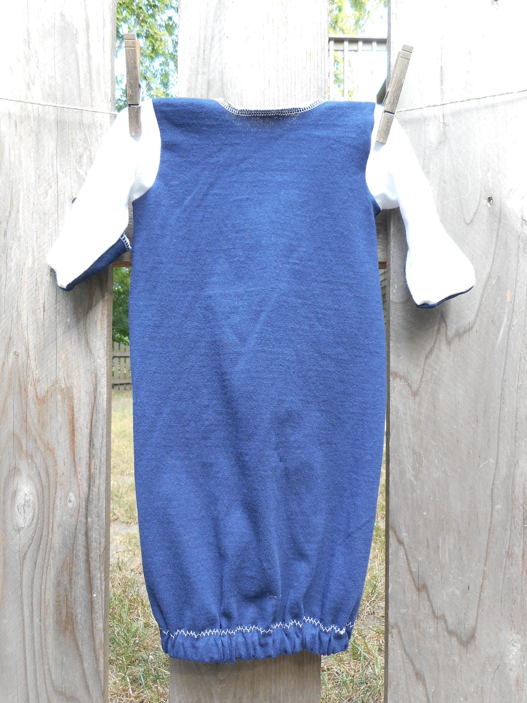 New York Yankees Baby Baseball MLB Infant upcycled t shirt Gown