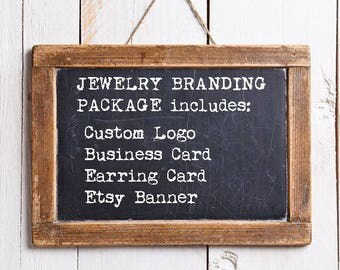 Jewelry Branding Package - with Thank You Card