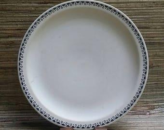 Vintage Buffalo China Ironstone Plate Mid Century Restaurant Ware