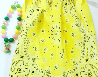 Girls Yellow Pillow Case Dress, Pillow Case Dresses For Toddlers, Girl's Summer Dresses, Girls Spring Dresses, Party Dress, Birthday Dresses