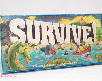 Survive Game from Parker Brothers 1982