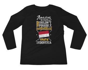My Country is Indonesia Amazing Indonesian Flag Jakarta