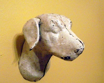 Cast Iron Dog Head