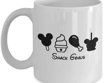 Disney Snack Goals Mickey Dole Whip Coffee Cup Mug for Women Gift
