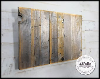 Reclaimed Wood Blank Canvas, Make Your Own Sign Blank Pallet Wood Sign Blank, Wood Sign. Distressed blank Wood Sign Wood Canvas DIY Pallet