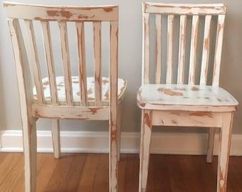 Pottery Barn Kids Carolina chairs, set of 2