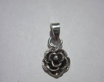 charm flower Silver 925 (67)
