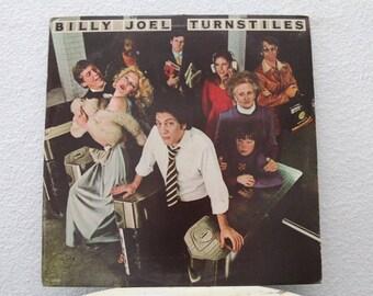 "Billy Joel - ""Turnstiles"" vinyl record"