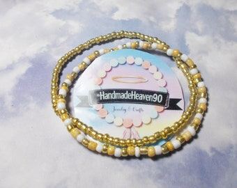 Mixed-Gold Anklets (2)