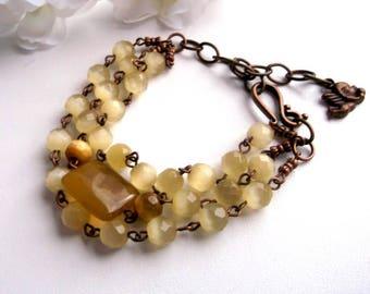 Moss Agate Bracelet Light Green Bracelet Gemstone Bracelet Green Bracelet Agate Bracelet Green Agate Bracelet Green Jewelry Gemstone Jewelry