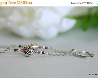 ON SALE Eyeglasses Necklace, Glasses Chain, Silver Heart Necklace, Valentines Beaded Lanyard, Spectacle Chain, Stainless, para gafas, Canada