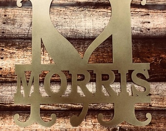 Myrtle Metal Sign