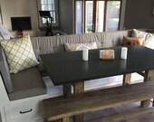 Custom Stool Cushions for Ethel
