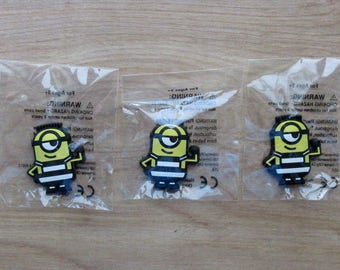 Minions Magnets~Set of 3~Party Favors~Super Cute~Minion
