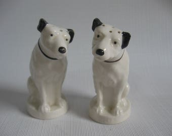 Lenox RCA Victor Dog Shakers - Salt & Pepper - His Master's Voice