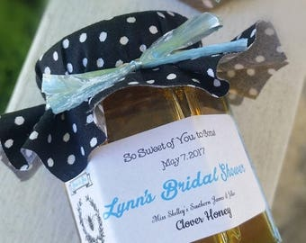 Christmas in July - Sale Bridal Shower Favors - Bride-to-Bee Favors - Honey Favors - Personalized Favors - Rustic Wedding Favors - Wedding F