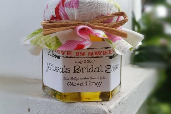 75 15oz Honey Jar Favors Wedding Favors Bridal Shower