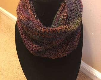 Handmade Stained Glazz Cowl Wool Blend