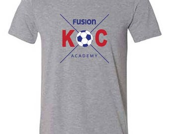 KC Fusion Men's Academy and Club Tees