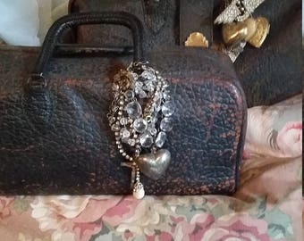 Antique Doctor Bag Fabulous Condition Shabby Style