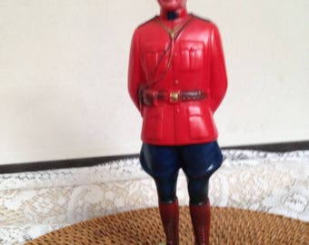 Royal Mounted Police Made in Canada by Regal Toy LTD, Souvenir Vintage Regal Toy RCMP Figure