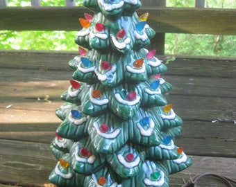 Vintage Ceramic Christmas Tree by California Originals