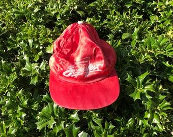 Vintage Satin Budweiser Hat