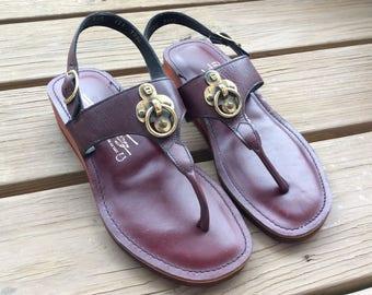 Vintage new old stock Etienne Aigner sandals size 7 retro