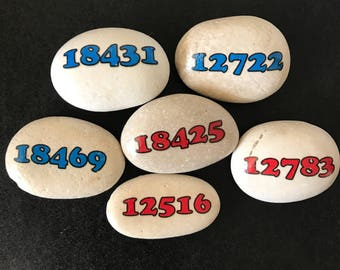 Zip code rocks! - What zip code rocks your world? Available in any zip code- Great Camp Gifts