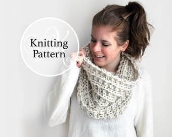 Knitting Pattern Dameron Cowl Instant Download
