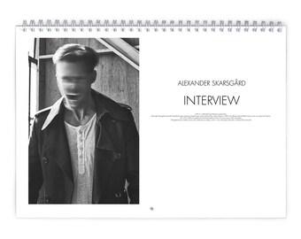 Alexander Skarsgard Vol.3 - 2018 Calendar