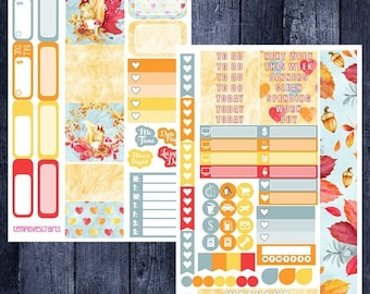 Weekend Sale Fall Woodlands Kit for Personal Planner