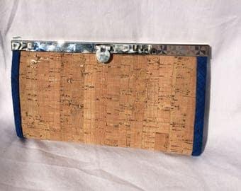 Frame Wallet -Natural cork
