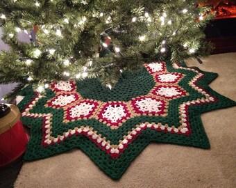Sparkle Xmas Tree Skirt