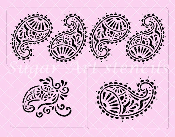 Henna Cake Stencils Uk Makedes Com
