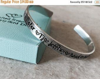 Sale SALE Personalized bracelet with names mothers bracelet with children's names hand stamped custom jewelry mom grandma kids monogrammed