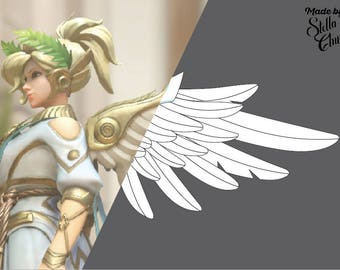 Winged Victory Mercy Overwatch Instructional how to cosplay pattern
