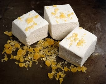 Butterscotch Marshmallows - 1 dozen Gourmet homemade marshmallows