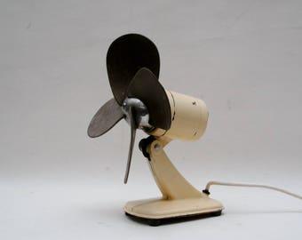 Vintage Electric Oscillating  Desk Fan