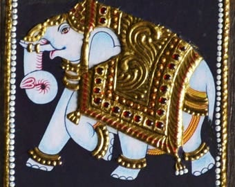 Elephant DIY EasyTanjore painting kit