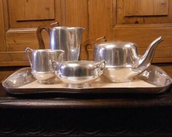 Picquot Ware Tea Set - 1950's - Mid Century - Vintage
