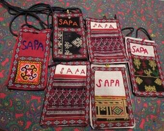 SAPA Purses Set Of 6 From Vietnam