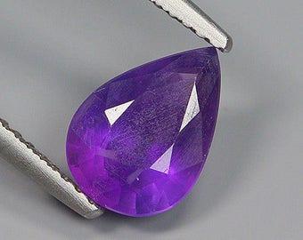1.55 Ct Natural Brazil Purple AMETHYST