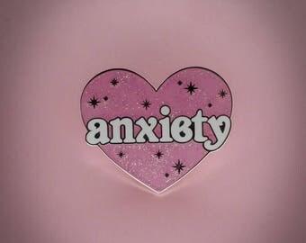 Anxiety - Enamel Pin