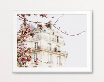 Paris Spring Photo - Paris Print, Paris Photography, Paris Decor, Home Decor, Paris Images, Paris Photo, Paris Wall Art, Paris Bedroom Decor