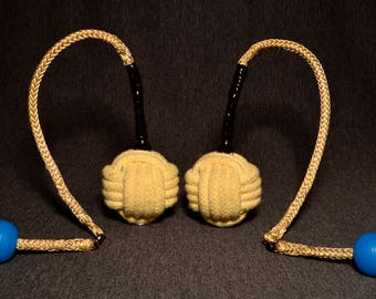 Monkey Fist Fire Poi - Customizable **UltraKnob Available**