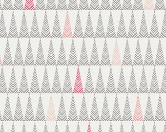 LITTLE TOWN by Amy Sinibaldi For Art Gallery Fabrics Tree Farm Candied
